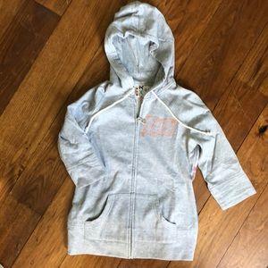 Roxy full zip sweatshirt with hood